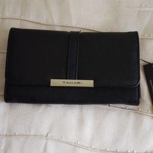 Black Tahari wallet